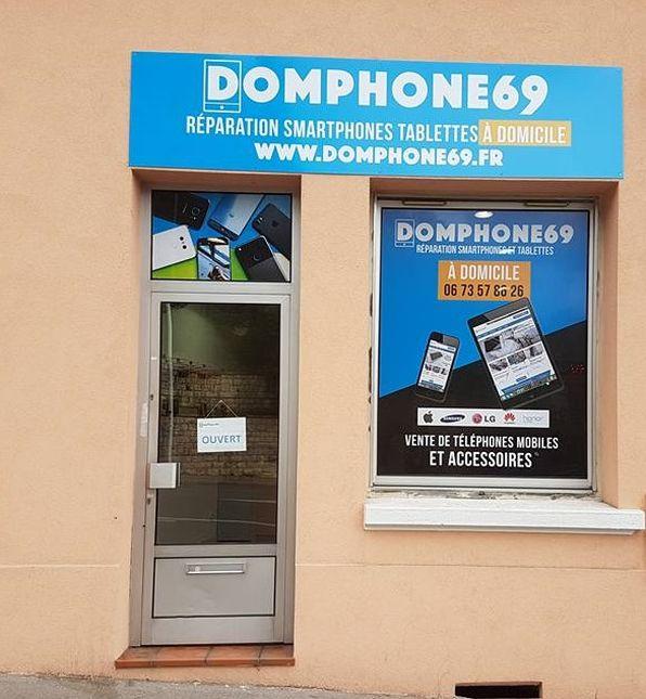 magsin de réparation smartphone DomPhone69