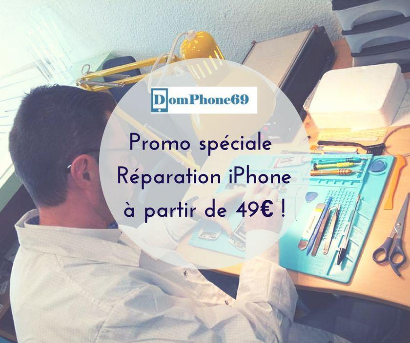 réparations iphone petits prix domphone69