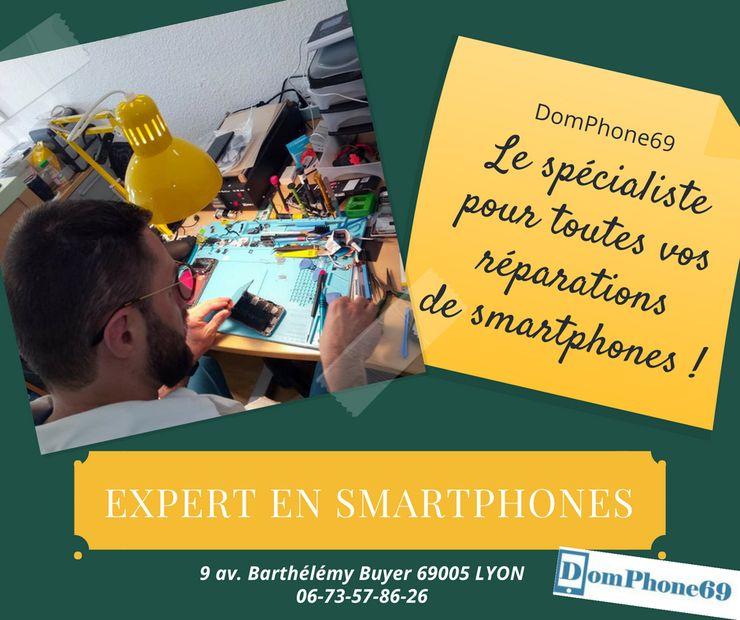 Expert en réparations de smartphones à Lyon