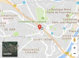 réparation de smartphone à Lyon : carte pour se rendre chez DomPhone69