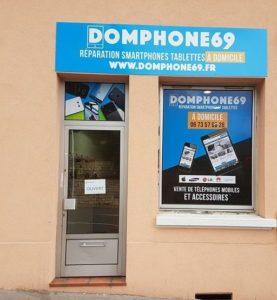 magasin de réparation de téléphone à Lyon, DomPhone69