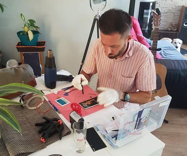 reparateur de téléphone à domicile, DomPhone69