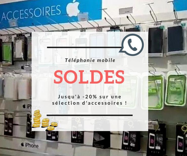 soldes 2019 chez domphone69, spécialiste de la réparation de téléphones portables à Lyon