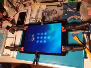 reparation écran tablette