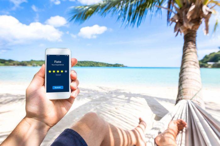 smartphone pour prendre des photos de vacances