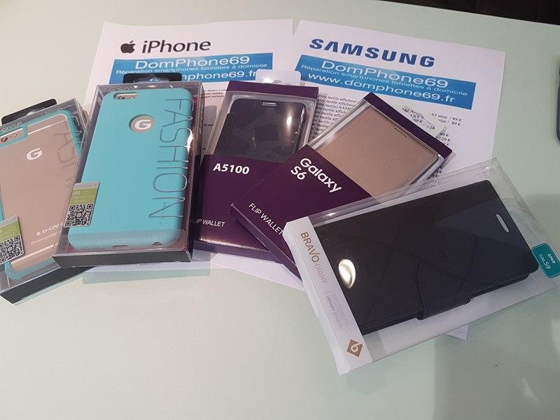 coque de protection pour iphone et smartphones