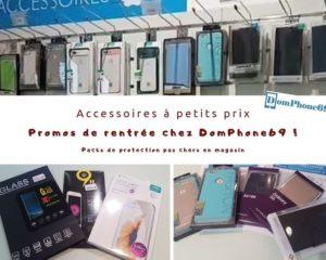 promo de rentrée pour iphones et smartphones chez DomPhone69