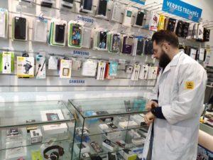 vente d'accessoires et réparations de téléphones mobiles à lyon