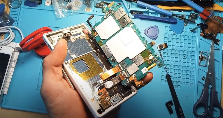 désoxydation de smartphone