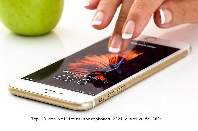 meilleurs smartphones 2021
